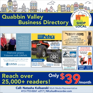 Quabbin Valley Business Directory