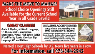Make the Move to Mahar