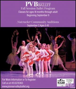Fall Session Ballet Program
