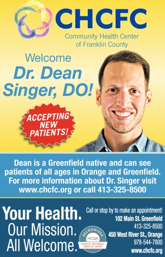 Welcome Dr. Dean Singer, DO!