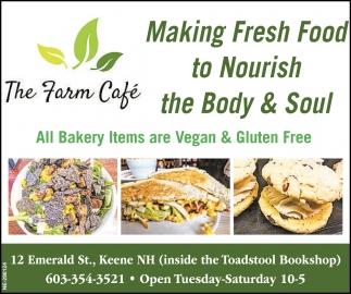 Making Fresh Food to Nourish the Body