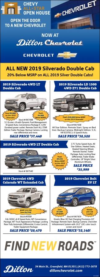 Open the Door to a New Chevrolet