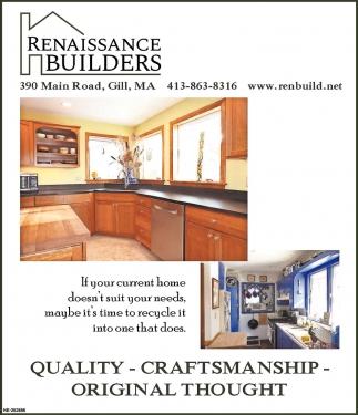 Quality Craftmanship