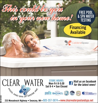 Free Pool & Spa Water Testing