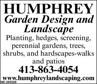 Garden Design and Landscape