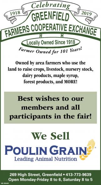 We Sell Poulin Grain