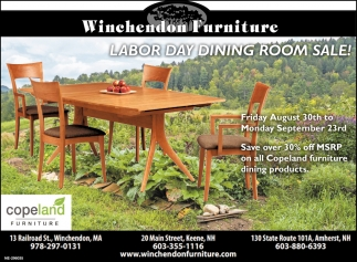 Labor Day Dining Room Sale