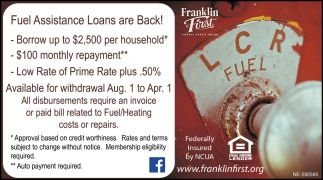 Fuel Assistance Loans Are Back!