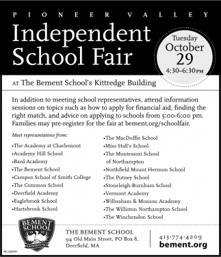 Independent School Fair