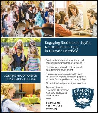 Engaging Students in Joyful Learning