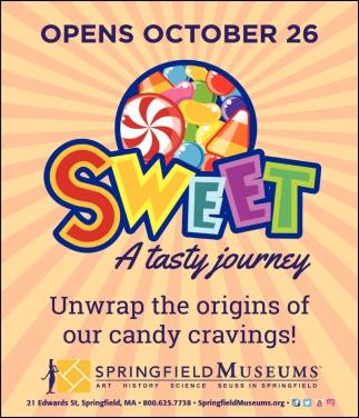 Sweet A Taste Journey