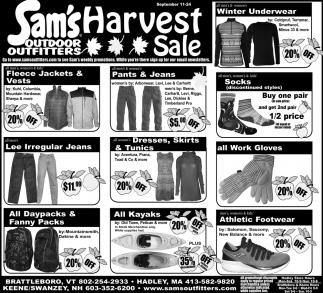 Harvest Sale