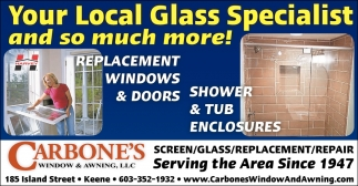 Your Local Glass Specialist