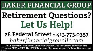 Retirement Questions?