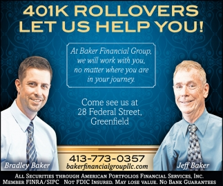 401K Rollovers Let Us Help You!