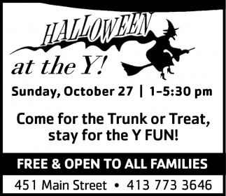Come for the Trunk or Treat