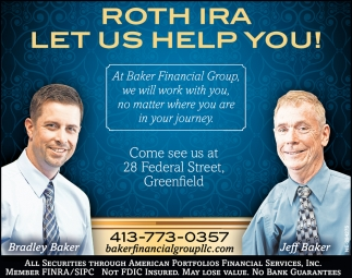 Roth Ira Let Us Help You