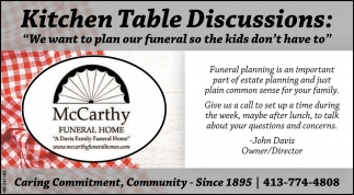 Kitchen Table Discussions