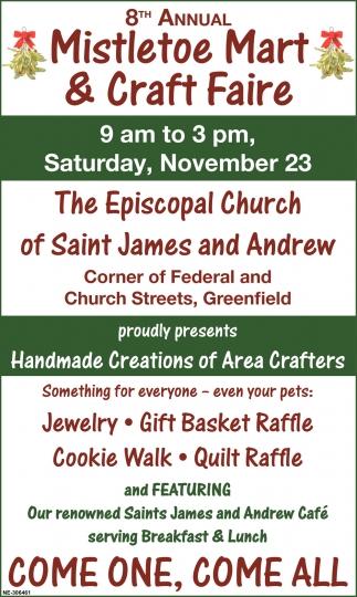Mistletoe Mart & Craft Faire