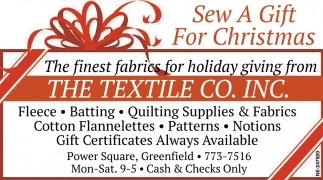 Sew a Gift for Christmas
