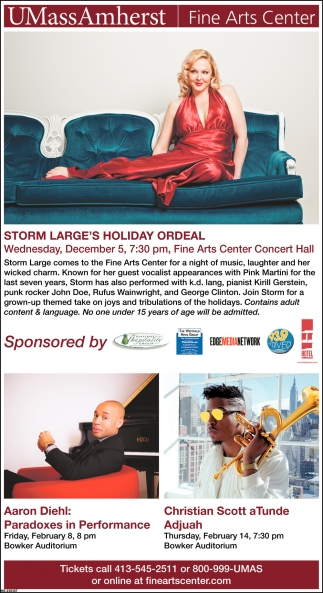 Storm Large's Holiday Ordeal