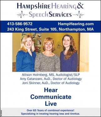 Hearing & Speech Services