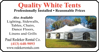 Quality White Tents