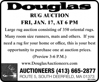 Rug Auction