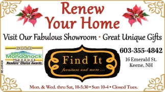 Renew your Home