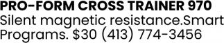 Pro-Form Cross Trainer 970