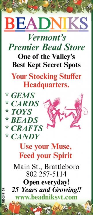 Your Stocking Stuffer Headquarters