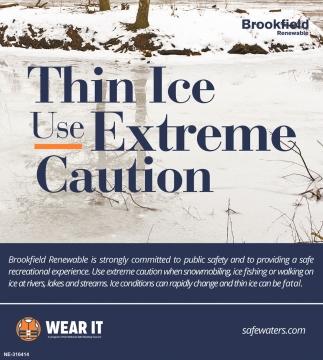 Thin Ice Use Exteme Caution