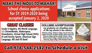 Make the Move to Mahar