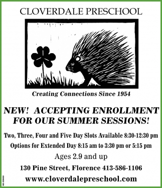 Accepting Enrollment for Our Summer Sessions