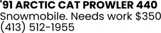 Cat Prowler