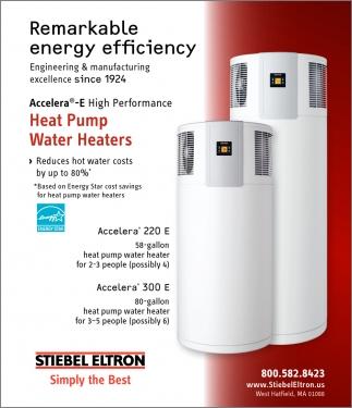 Remarkable Energy Efficiency