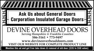 Aks Us About General Doors