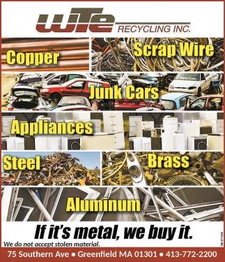 If It's Metal, We Buy It