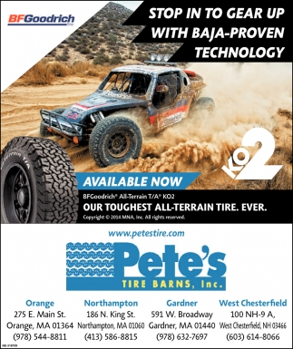 Toughest All-Terrain Tire
