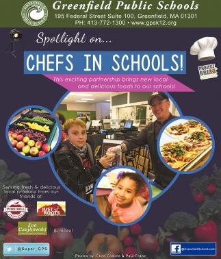 Chefs in Schools!