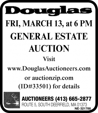 General Estate Auction