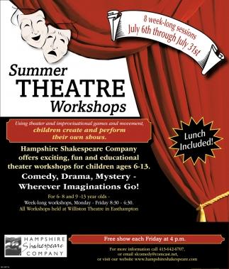 Summer Theatre Workshops
