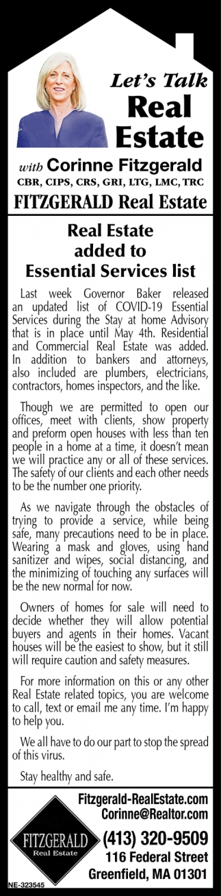 Let's Talk Real Estate