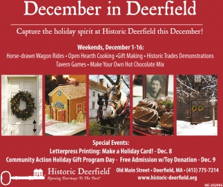 December in Deerfield
