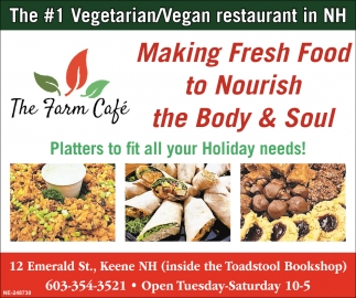 The #1 Vegetarian/Vegan Restaurant in NH