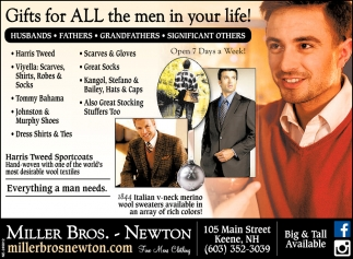 Gift for All the Men in your Life!
