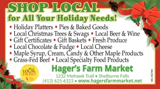 Shop Local for All your Holiday Needs!