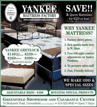 Why Yankee Mattress?