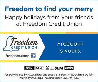Freedom to Find your Merry