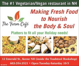 The #1 Vegetarian/Vegan Restaurant in NH